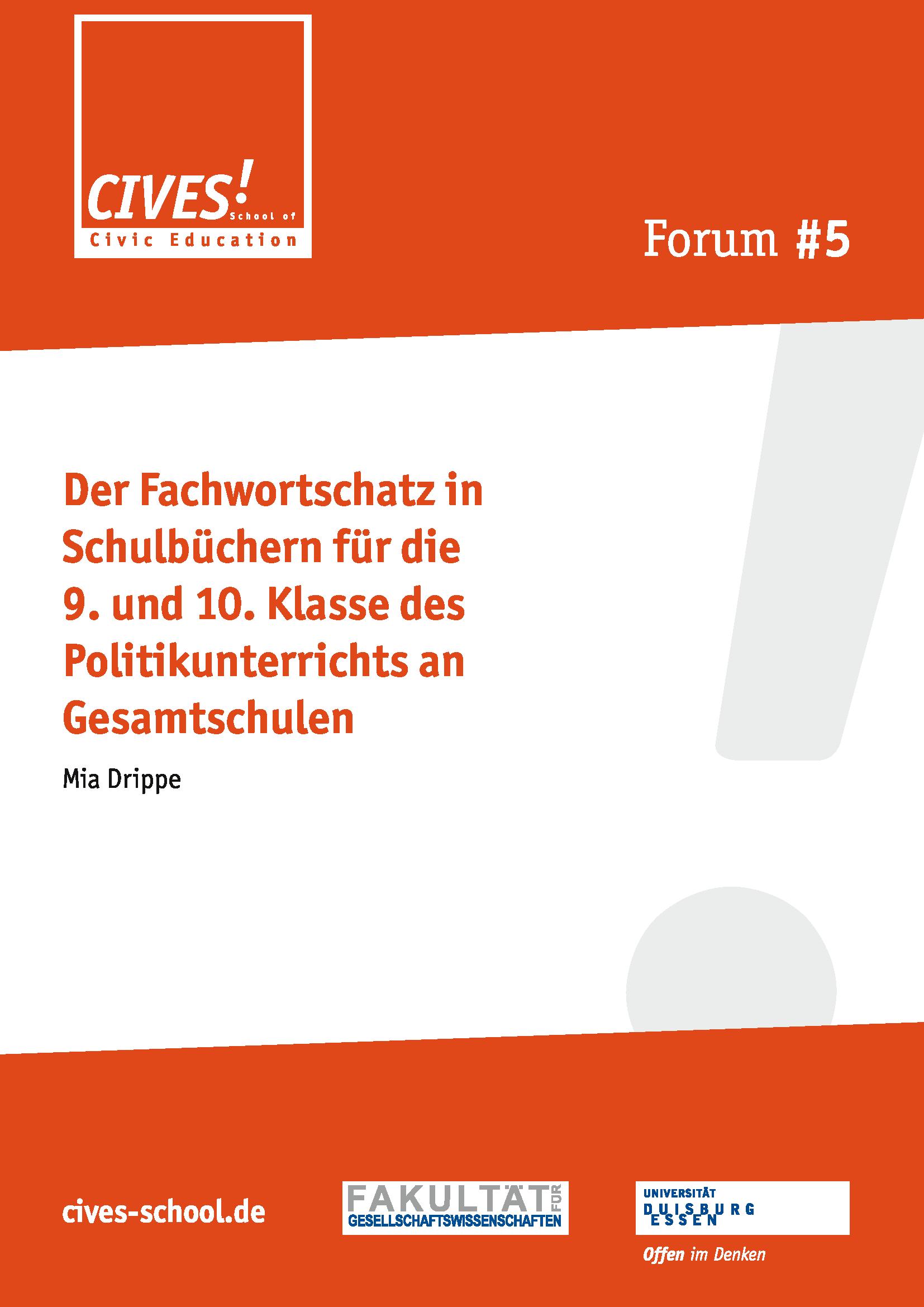 CIVES-Forum 5