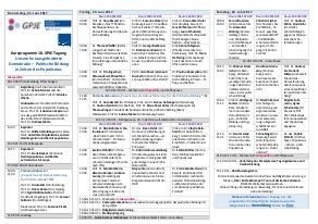Kurzprogramm GPJE 2017